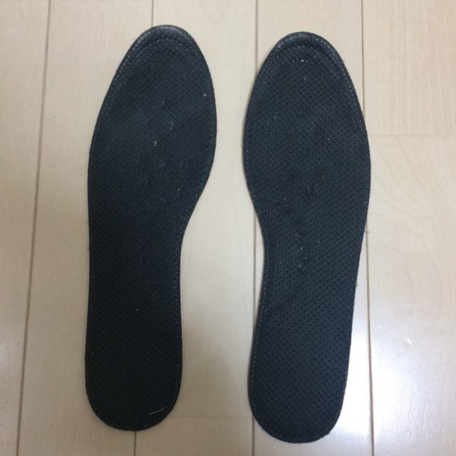 足底筋膜炎のインソール