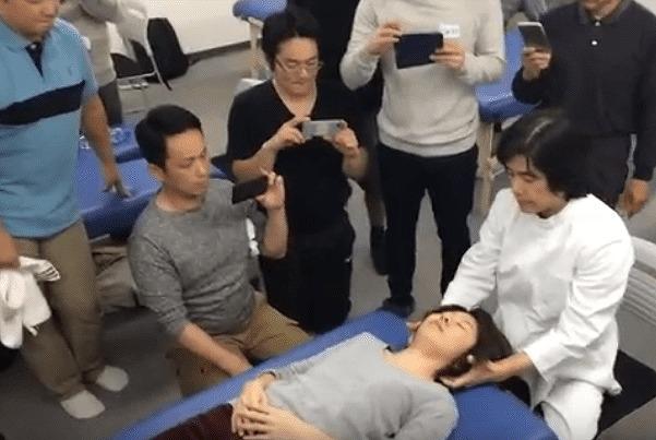上原宏先生のDRT指導風景